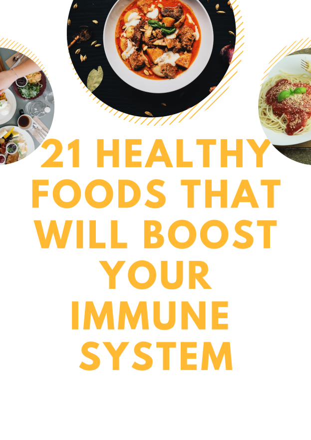 Foods that will boost your immunity