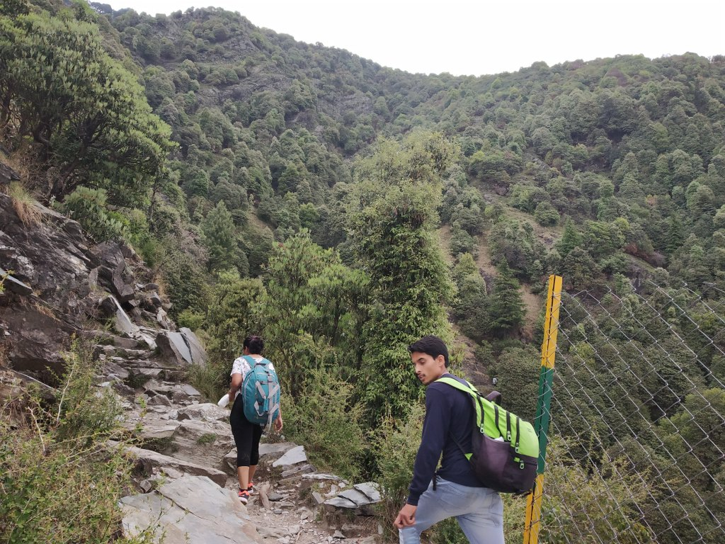 Shubhi_Triund_Trek